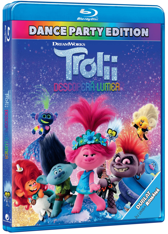 Trolii 2: Descopera lumea / Trolls: World Tour (Blu-ray Disc)