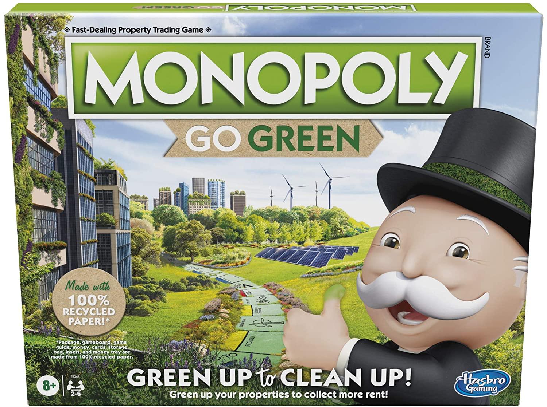 Joc - Monopoly Go Green | Hasbro