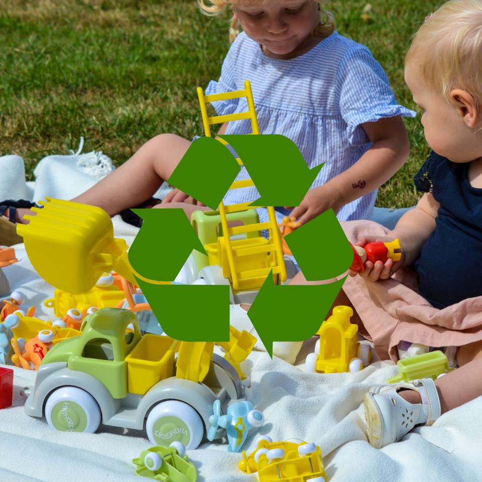 Tractor Ecoline - Midi | Viking Toys - 1
