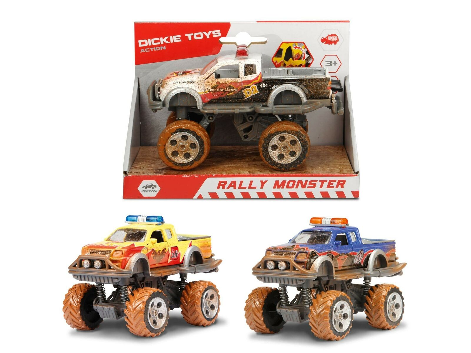 Masina - Rally Monster (mai multe modele) | Dickie Toys
