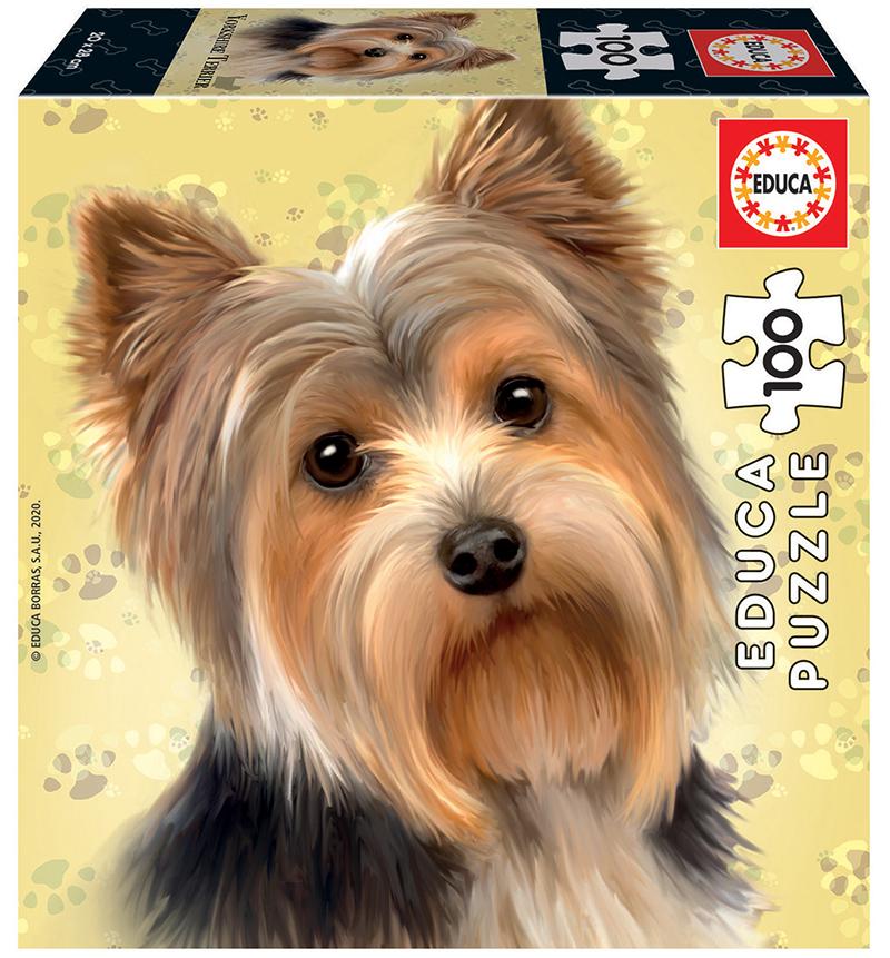 Puzzle 100 de piese - Yorkshire Terrier | Educa