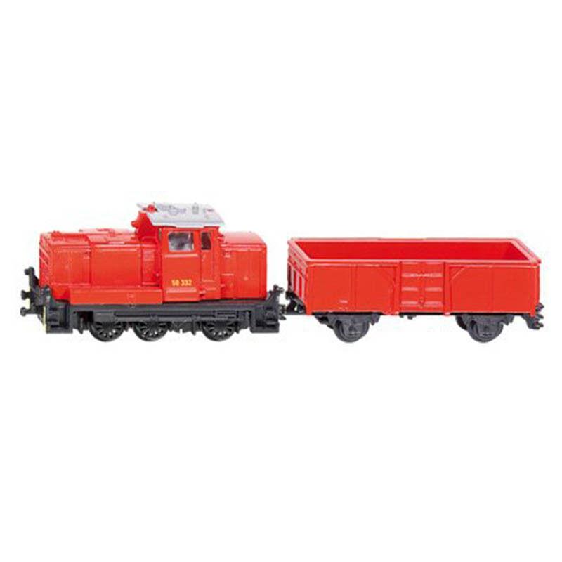 Jucarie - Tren cu locomotiva de marfa | Siku