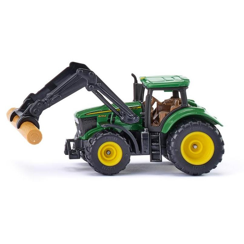 Jucarie - John Deere With Bole Claws Green | Siku
