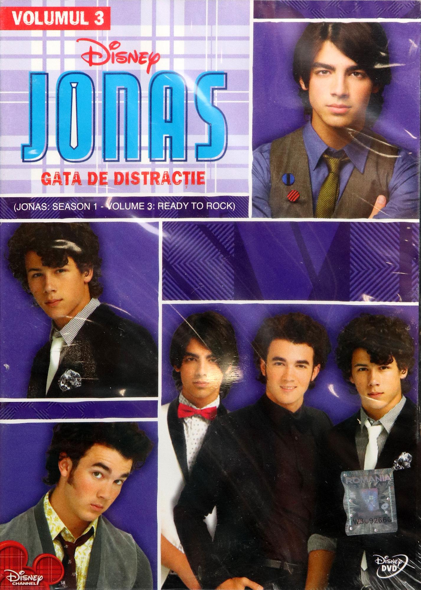 Disney Jonas Sezonul 1 - Volumul 3: Gata de distractie / Ready to Rock