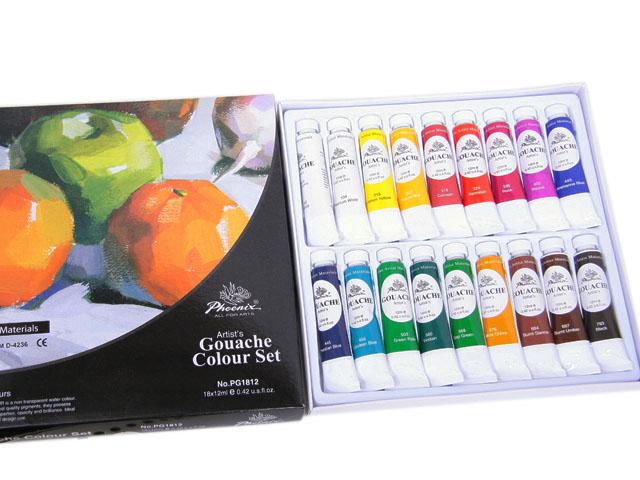Set 18 culori guasa - Phoenix | Phoenix image0