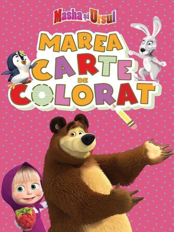 Masha si ursul. Marea carte de colorat |