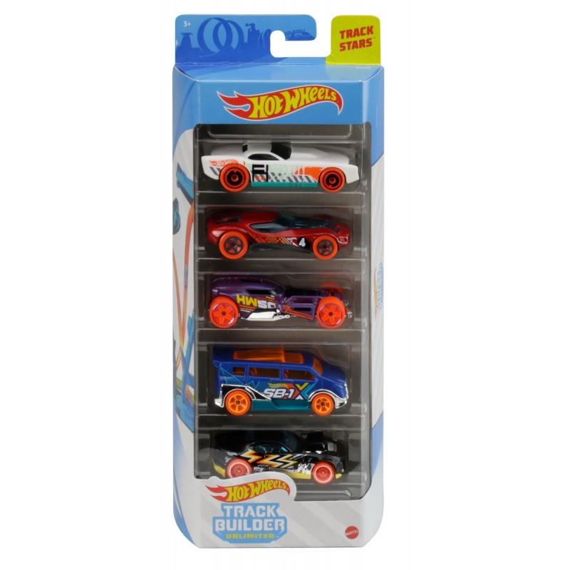 Set 5 masini de jucarie - Hot Wheels | Mattel