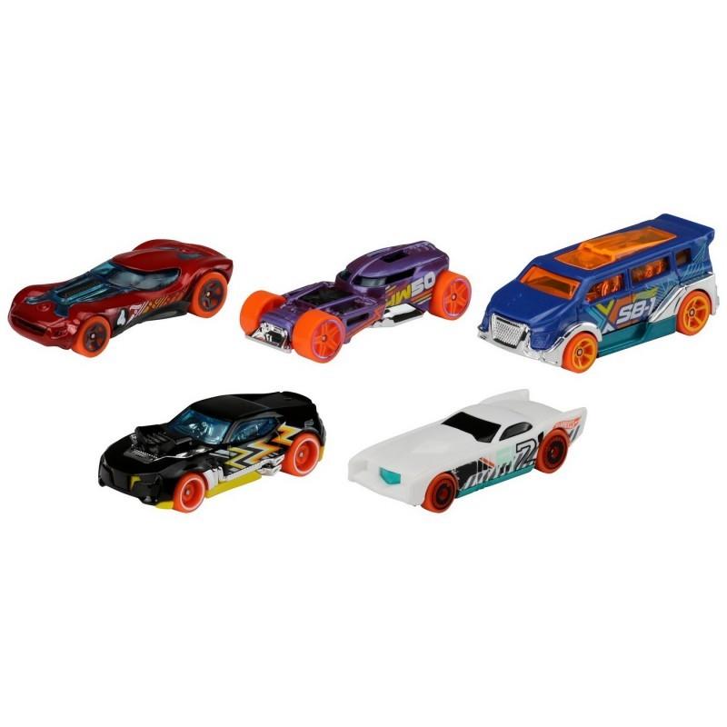 Set 5 masini de jucarie - Hot Wheels   Mattel - 1