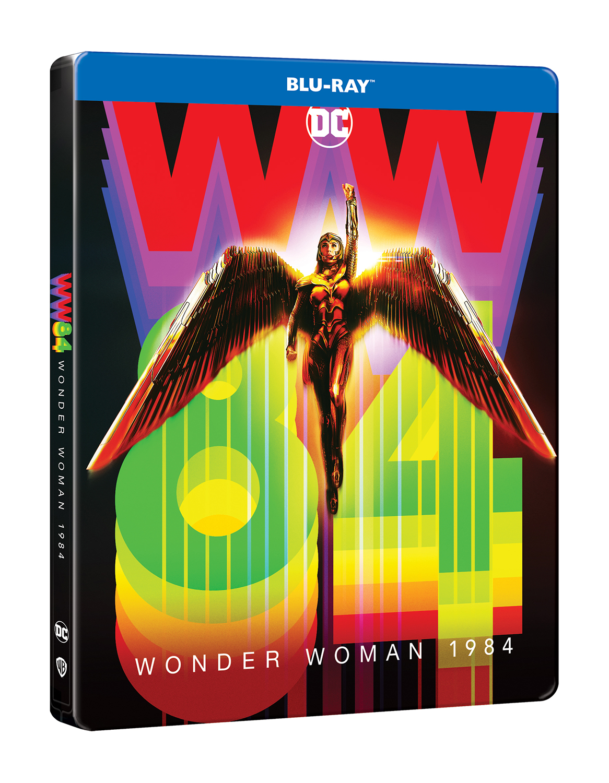 Wonder Woman 1984 (Blu-Ray Disc-Steelbook)