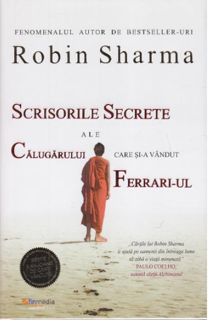 Scrisorile secrete ale calugarului care si-a vandut Ferrari-ul