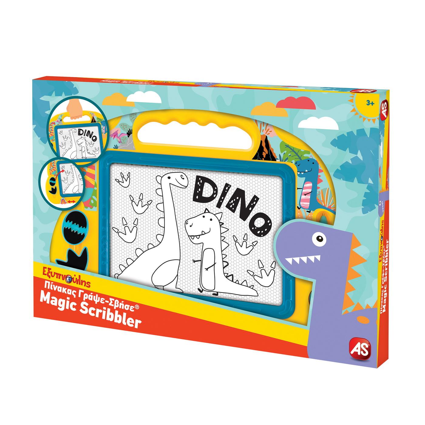 Tabla magnetica - Magic Scribbler: Dino