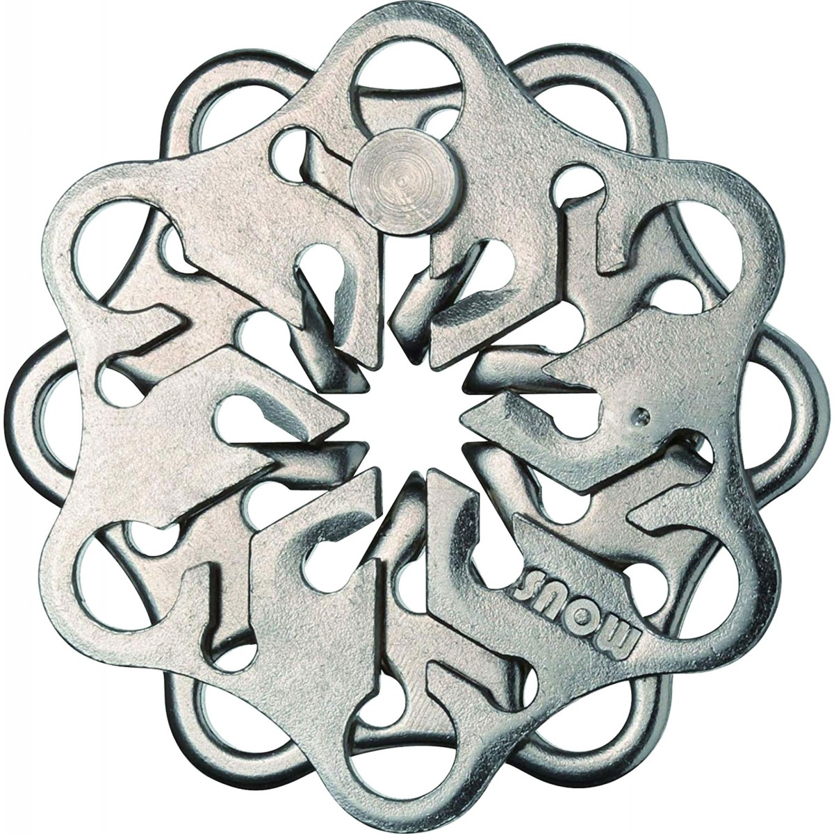 Puzzle mecanic - Huzzle Cast Snow | Logica Giochi