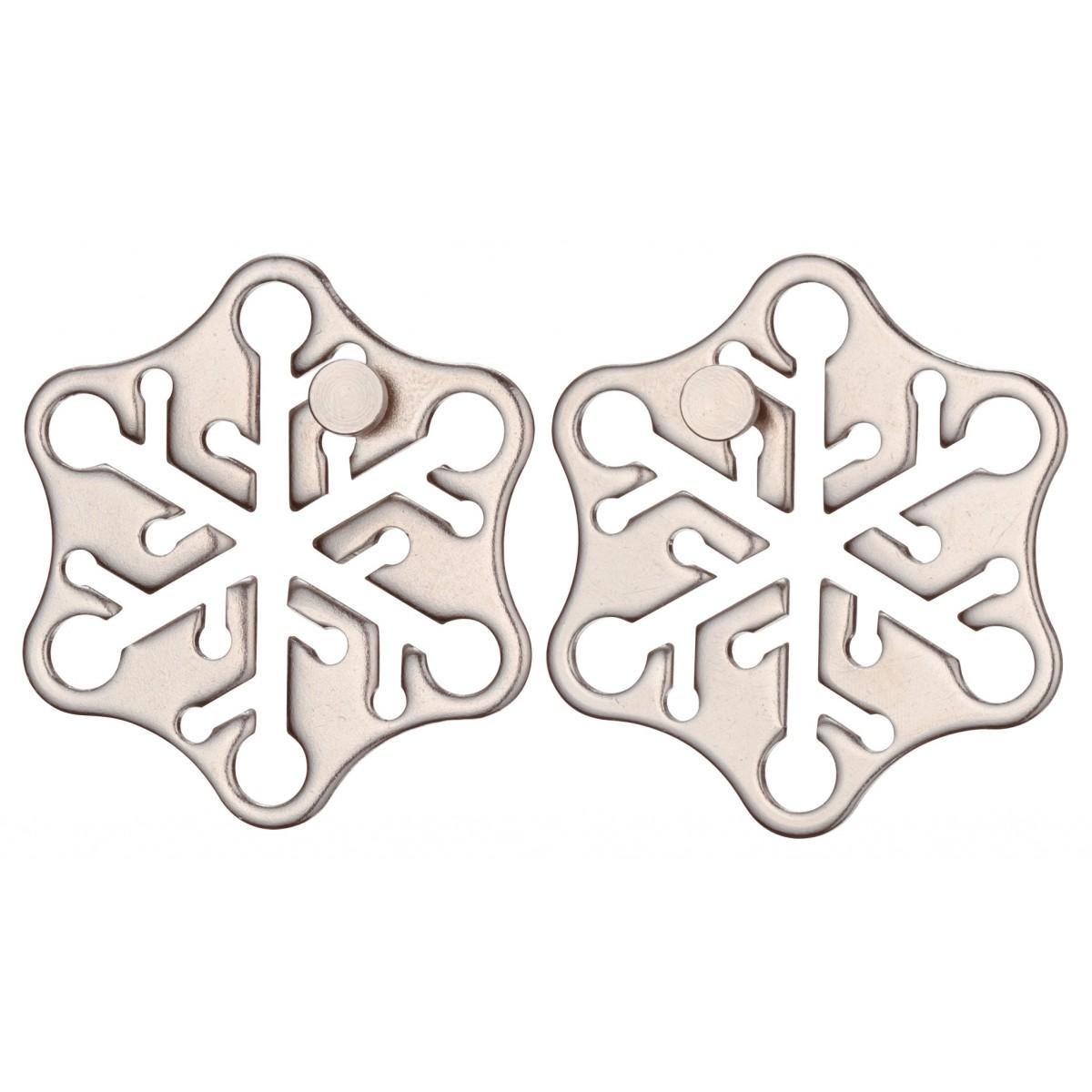 Puzzle mecanic - Huzzle Cast Snow | Logica Giochi - 2