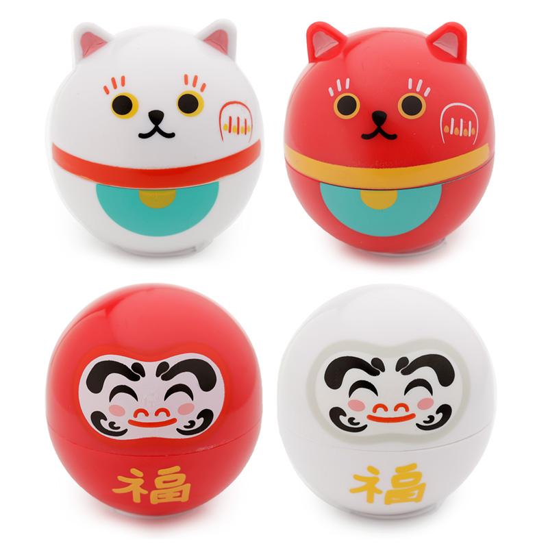 Balsam de buze - Cat & Japanese Daruma