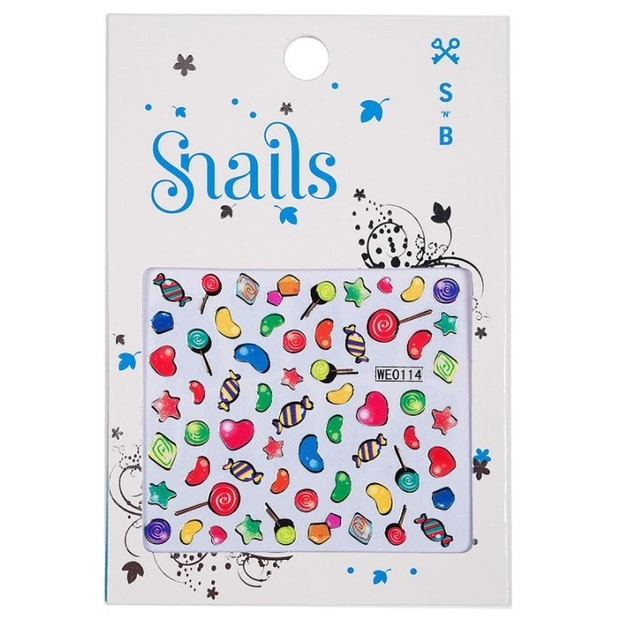 Stickere pentru unghii - Candy Blast