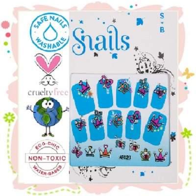 Stickere pentru unghii - Perfect Princess