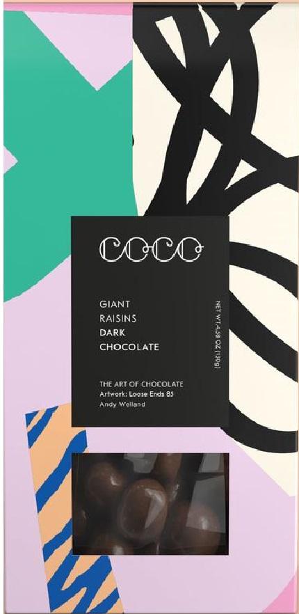 Stafide trase in ciocolata neagra