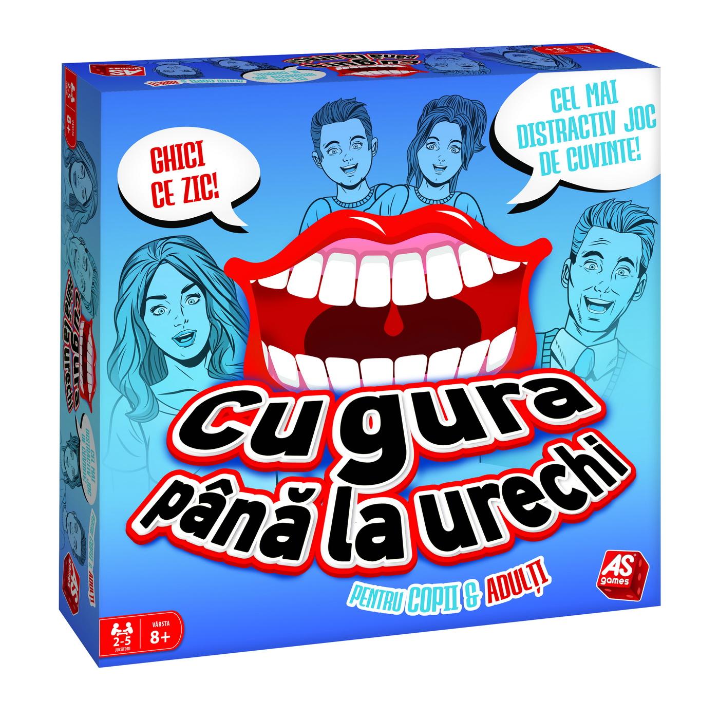 Cu gura pana la urechi, pentru copii si adulti | As games