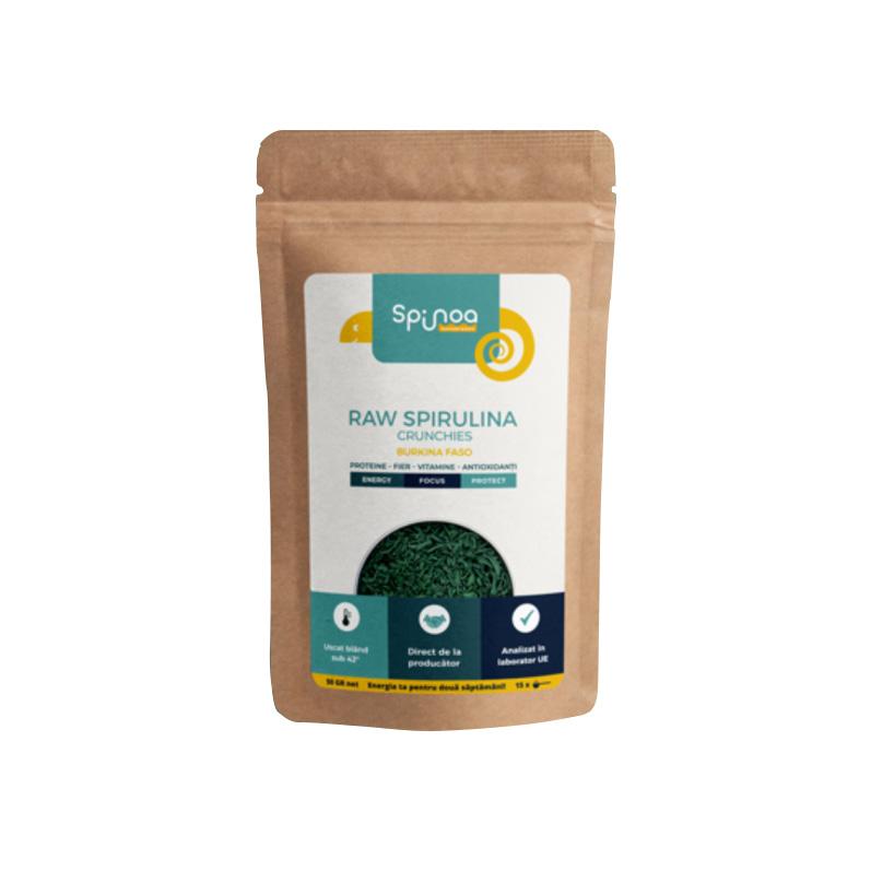 Spirulina Crunchies Burkina Faso, 50g