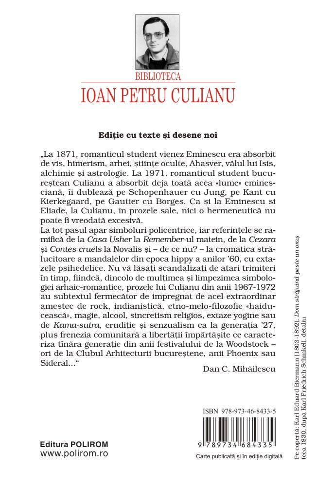 Arta fugii. Povestiri   Ioan Petru Culianu - 11