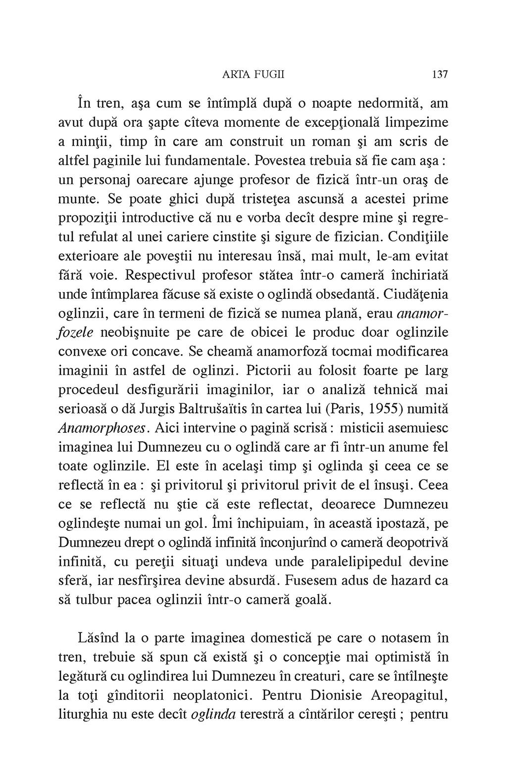 Arta fugii. Povestiri   Ioan Petru Culianu - 4
