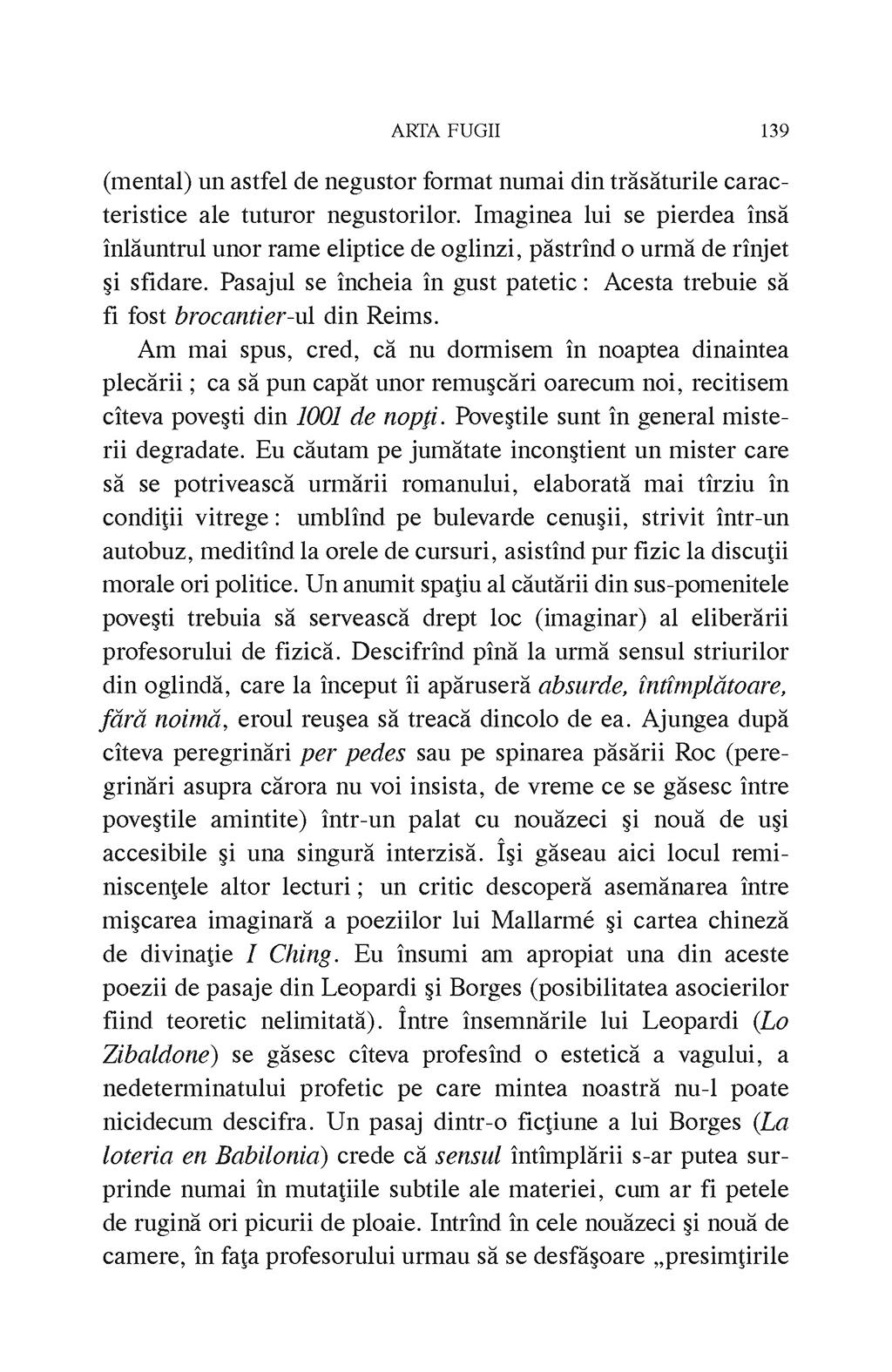 Arta fugii. Povestiri   Ioan Petru Culianu - 2