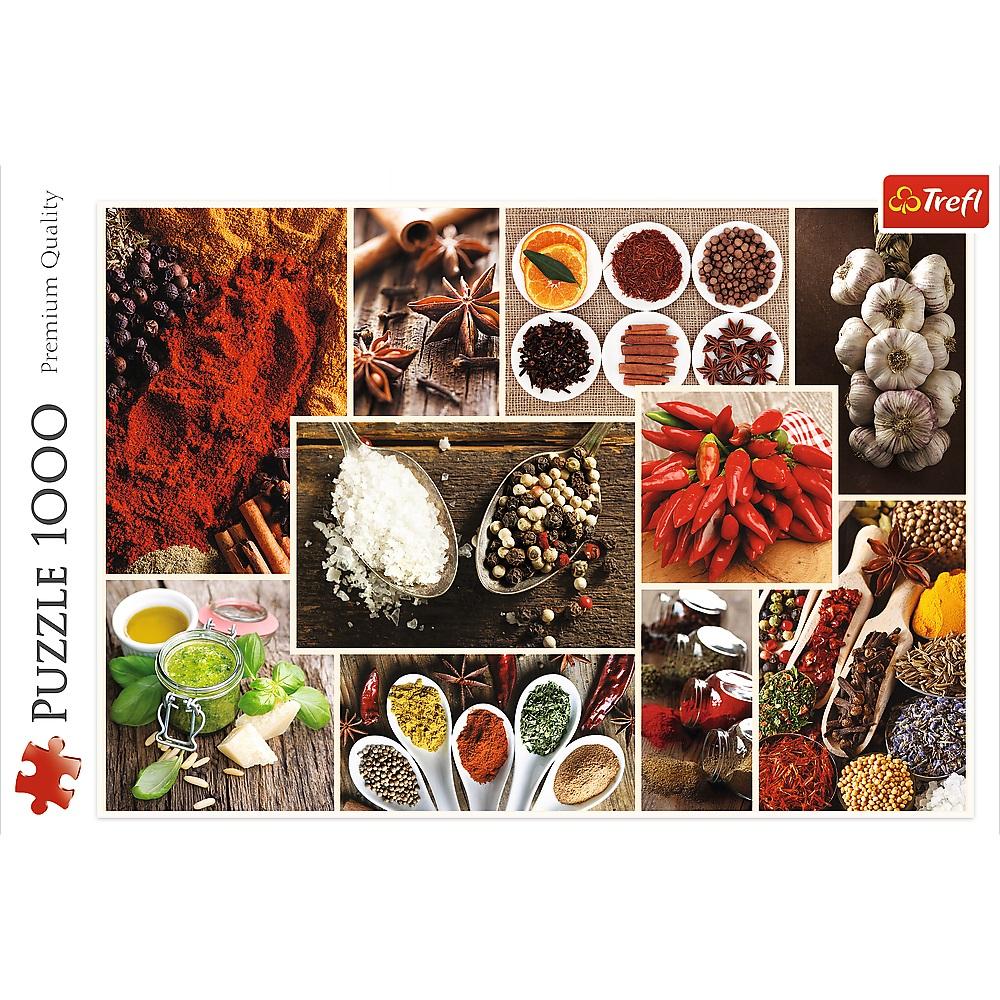 Puzzle 1000 piese - Condimente | Trefl - 1