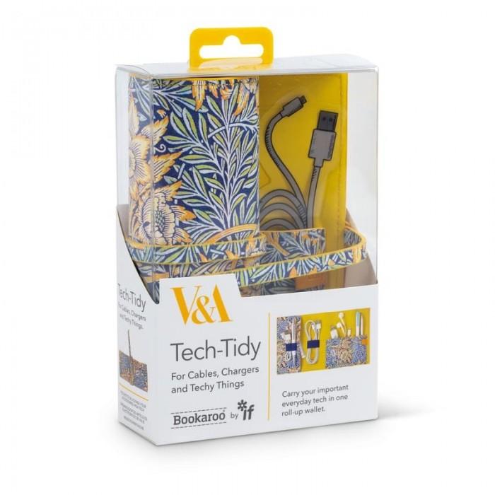 Trusa de voiaj - Tech-Tidy - V&A Morris Tulip & Willow
