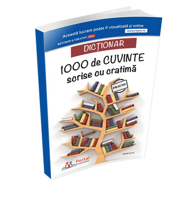 Dictionar 1000 de cuvinte scrise cu cratima   Ana Olteanu, Adelina Sinca, Mihaela Miroiu