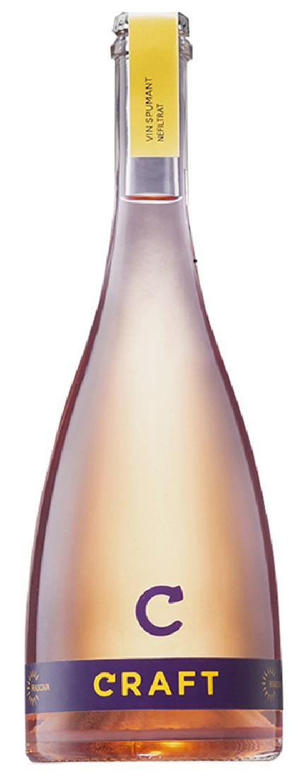 Vin spumant rose - Craft, Pinot Noir, Brut, 2020