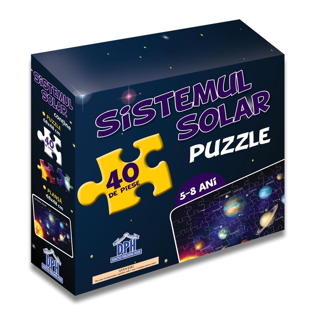Puzzle educativ - Sistemul Solar | Didactica Publishing House