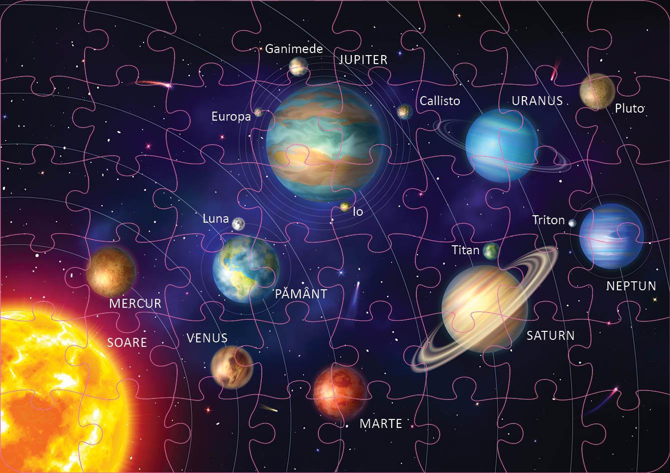 Puzzle educativ - Sistemul Solar | Didactica Publishing House - 1