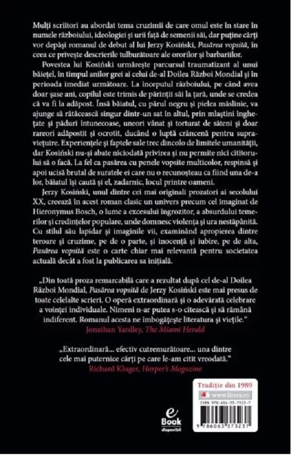 Pasarea vopsita | Jerzy Kosinski - 1
