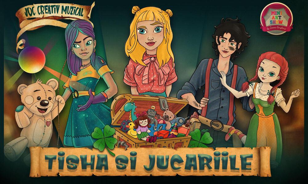 Joc - Tisha si jucariile | MiniArtShow