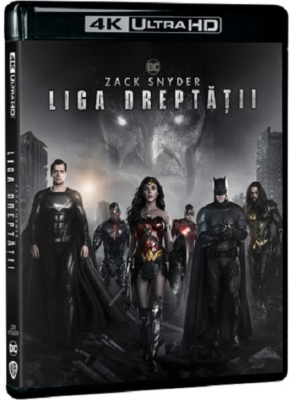 Zack Snyder - Liga dreptatii / Zack Snyder's Justice League ( 4K Ultra HD)