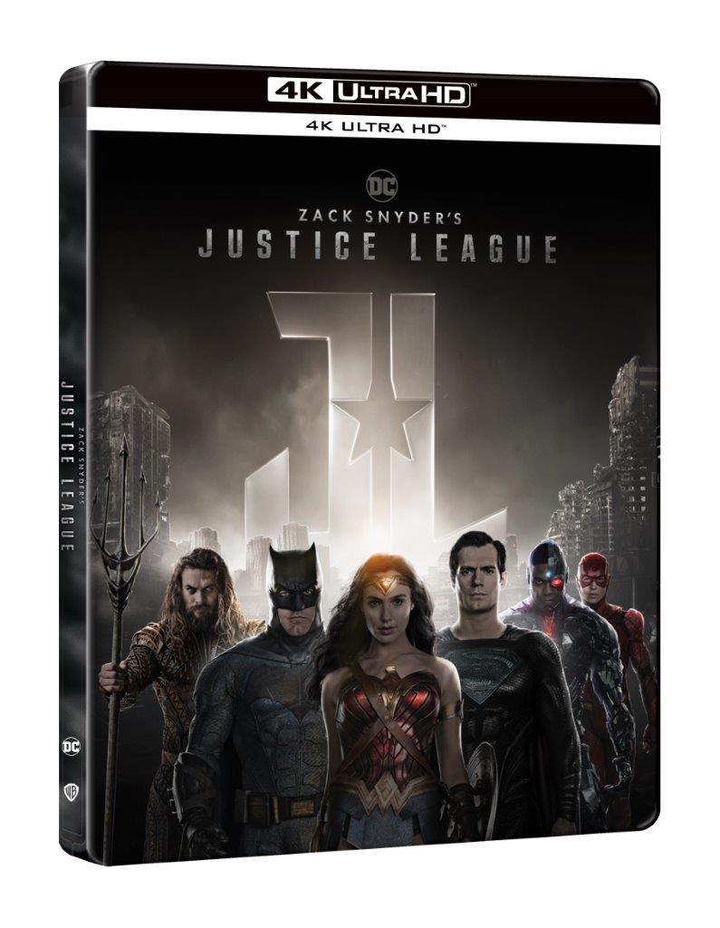 Zack Snyder - Liga dreptatii / Zack Snyder's Justice League ( Steelbook - 4K Ultra HD)