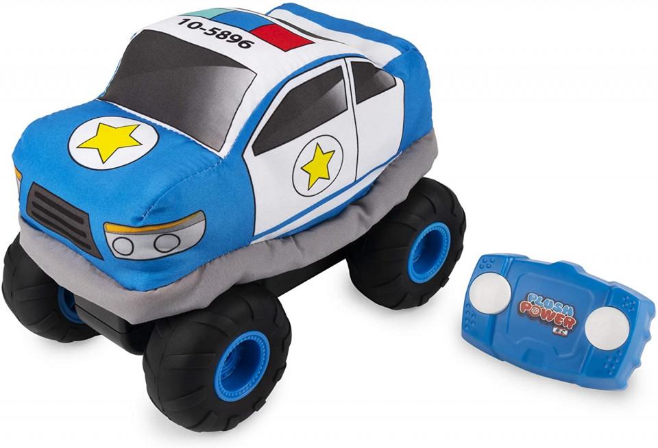 Masina cu radiocomanda - Plush Power: Squeezable RC Racer-Police | Spin Master