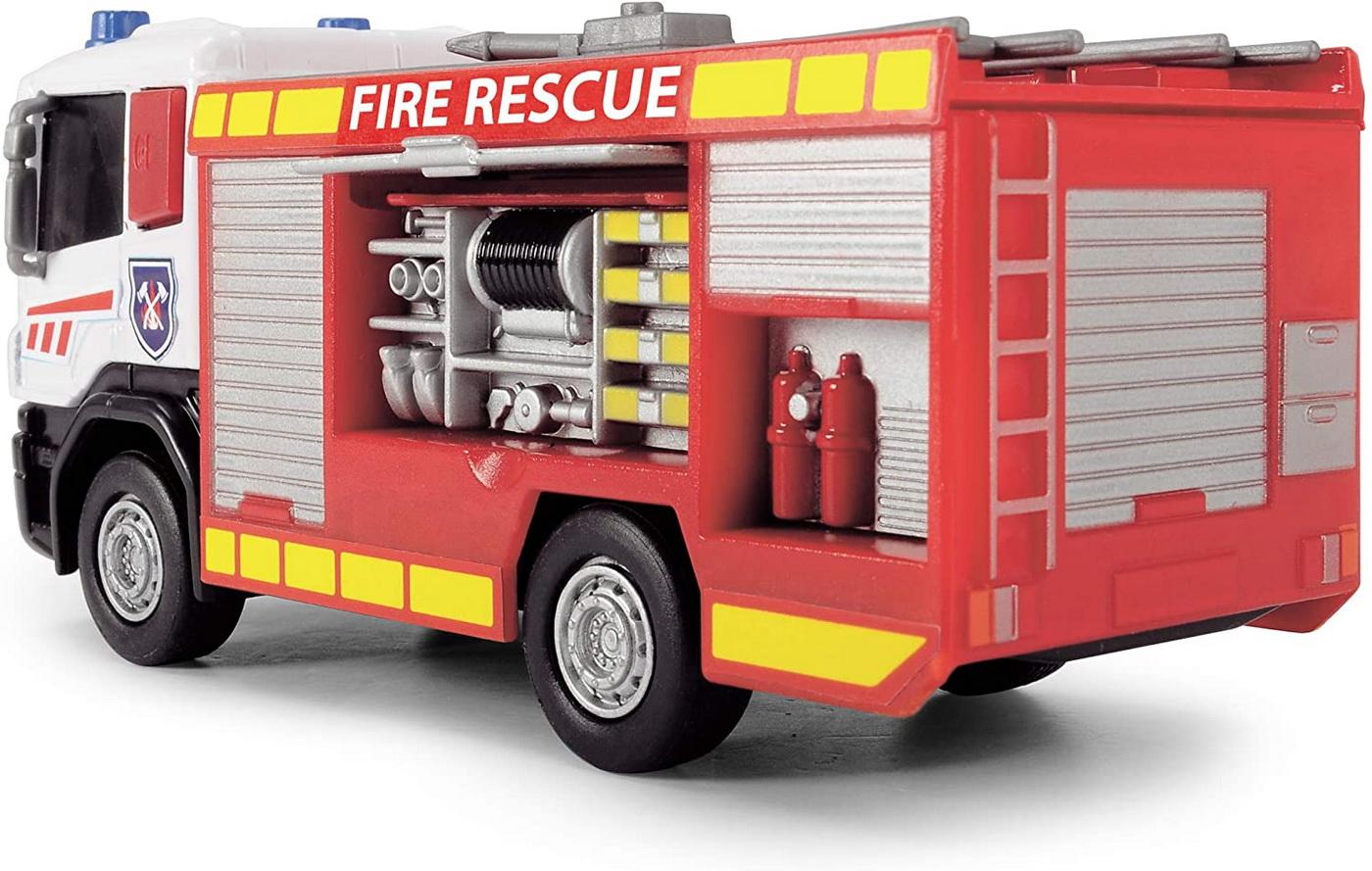 Masinuta - Scania Fire Rescue, cu scara   Dickie Toys - 2