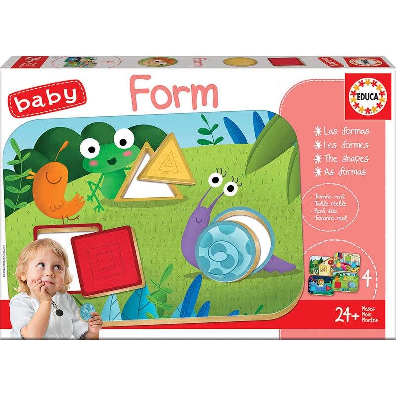 Puzzle educativ - Form | Educa