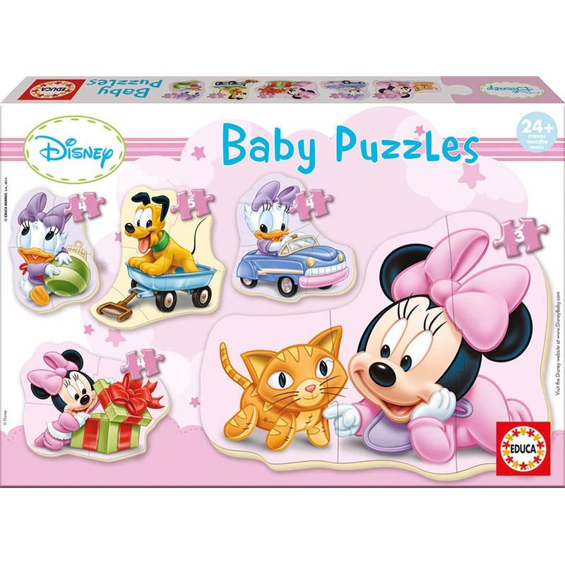Puzzle 5in1 - Disney - Minnie Mouse | Educa