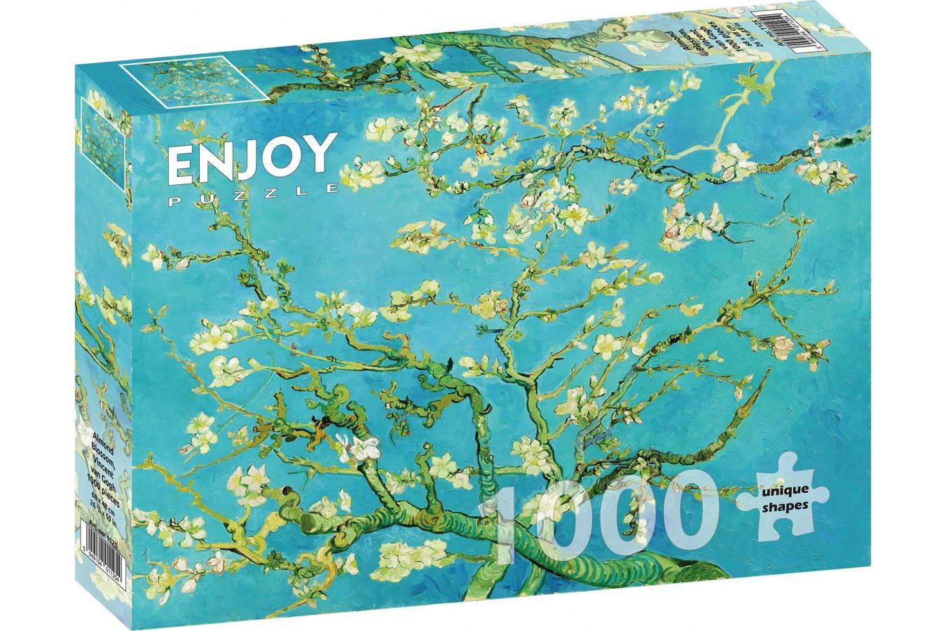 Puzzle 1000 piese - Vincent Van Gogh - Almond Blossom   Enjoy