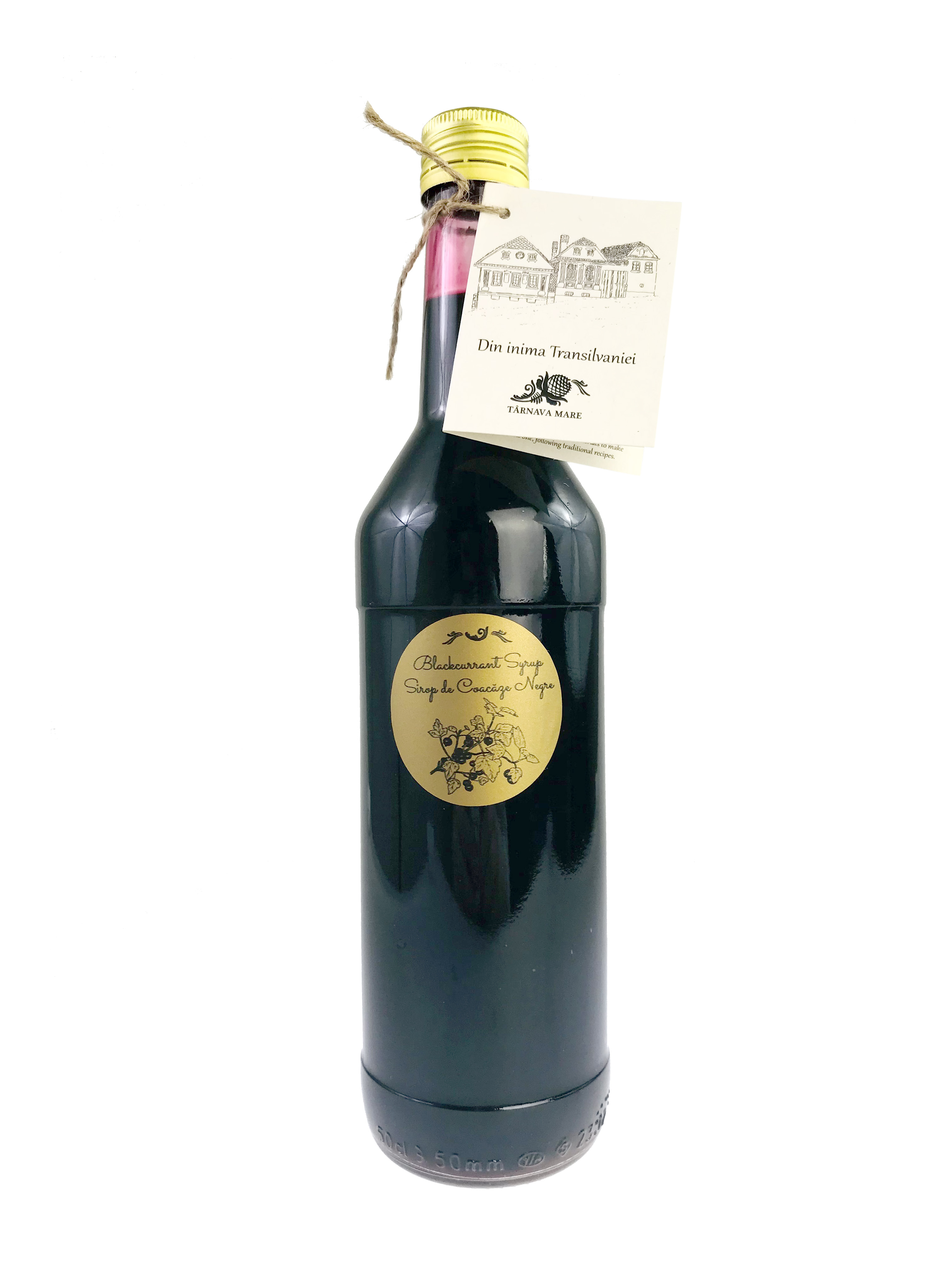 Sirop de coacaze negre, 500 ml