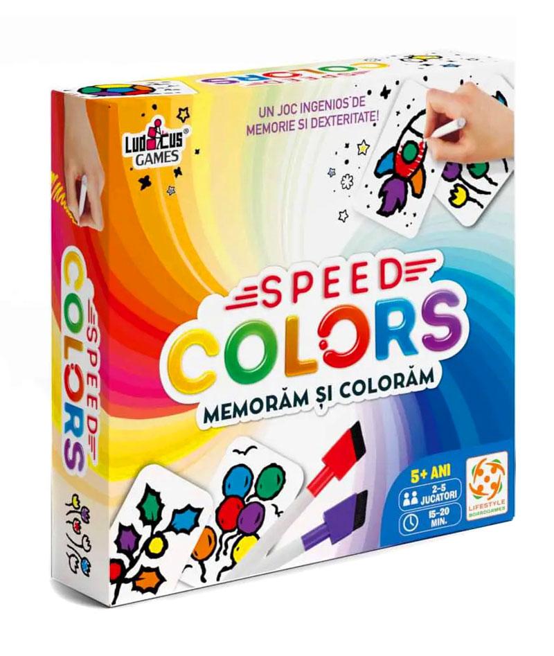 Joc - Speed Colors: Memoram si coloram   Ludicus