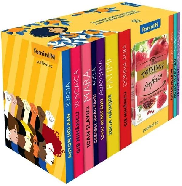 Pachet Colectia FeminIN - Volumele 1-10  