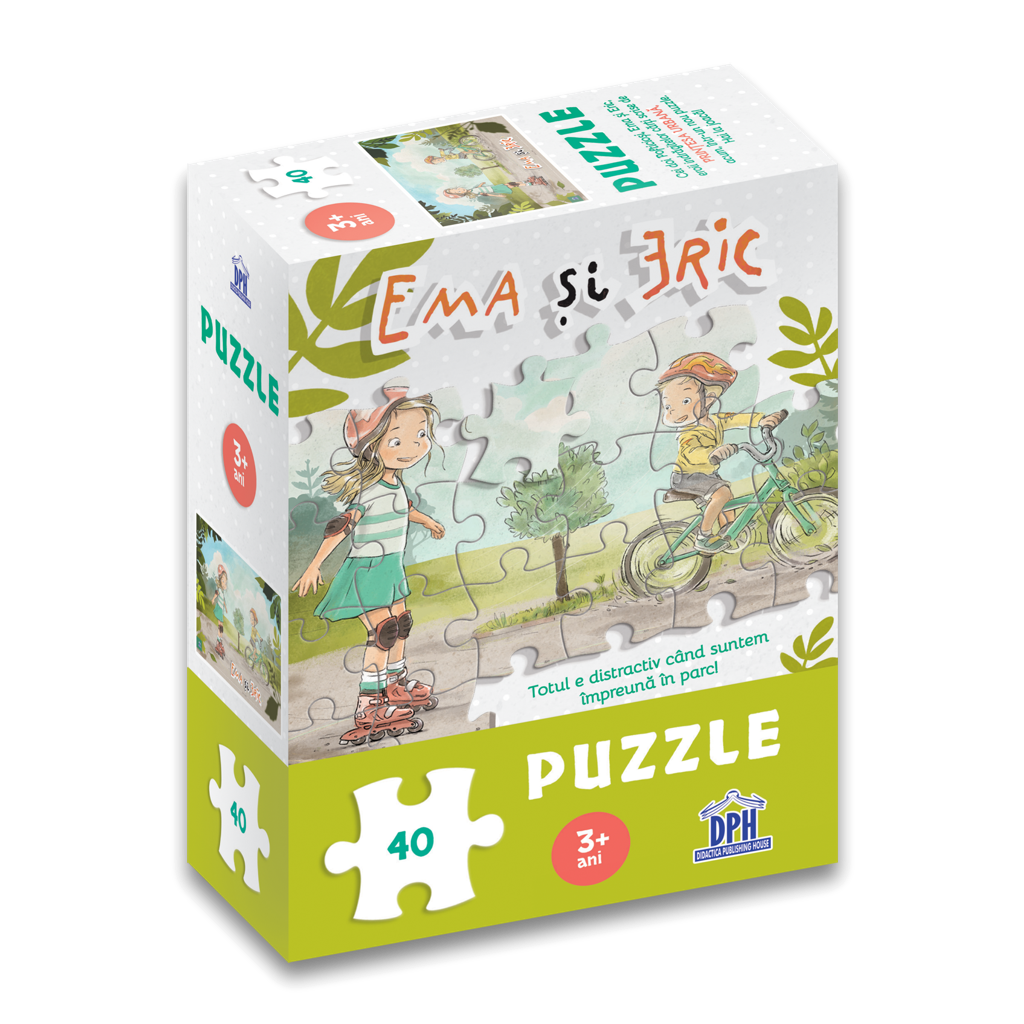 Puzzle - Ema si Eric in parc   Didactica Publishing House