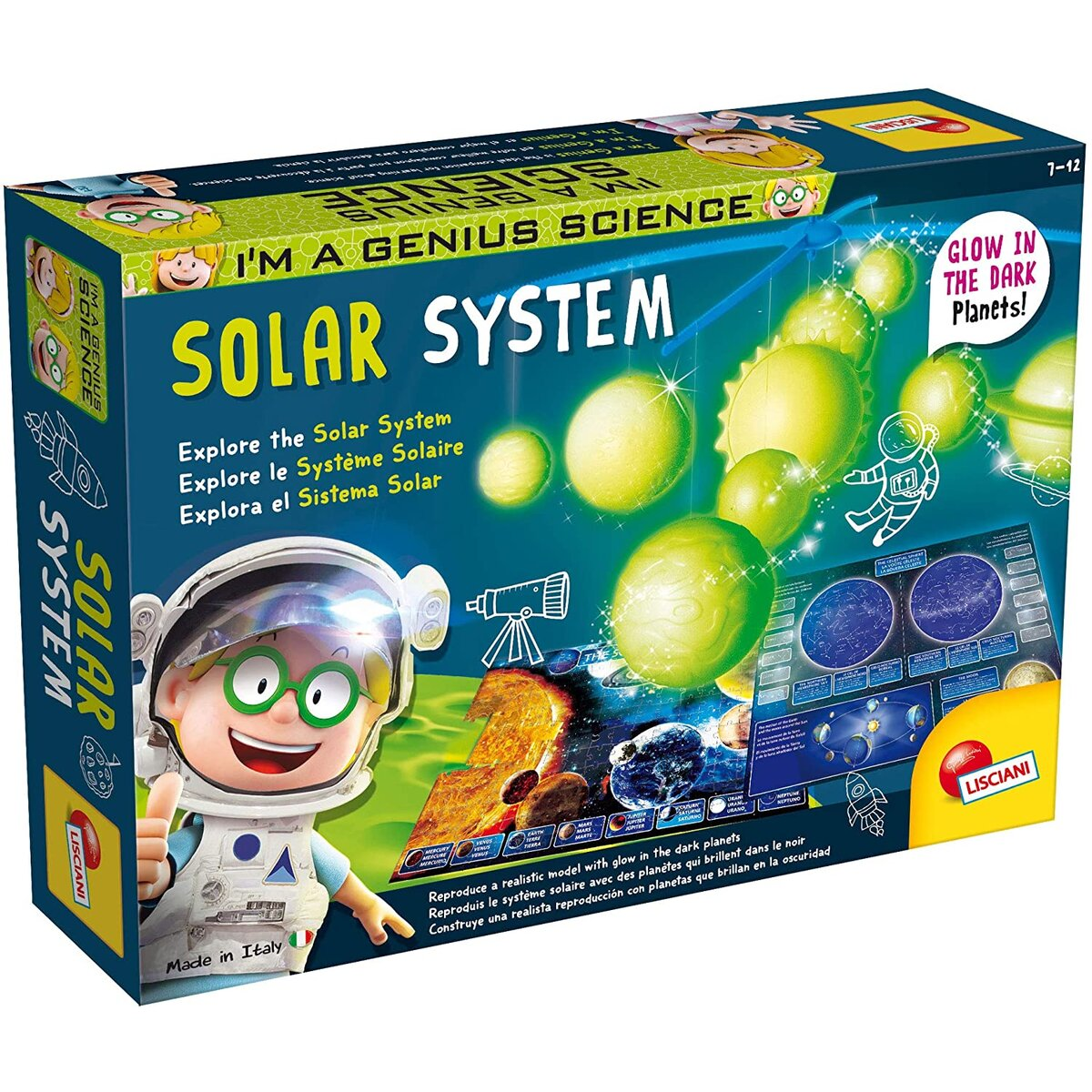 Joc educativ - Experimentele Micului Geniu - Sistemul Solar   Lisciani
