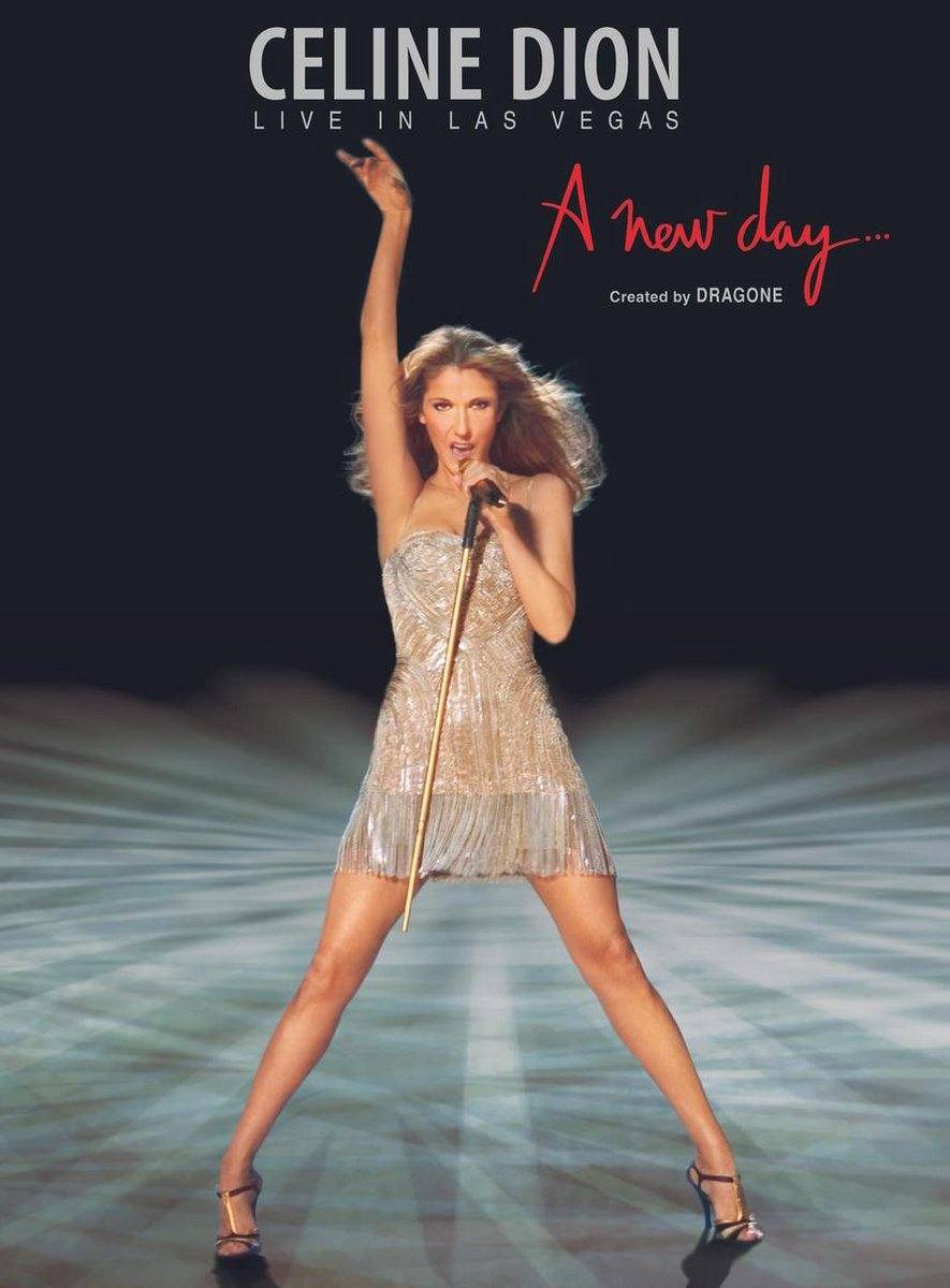 A New Day - Live in Las Vegas (DVD)