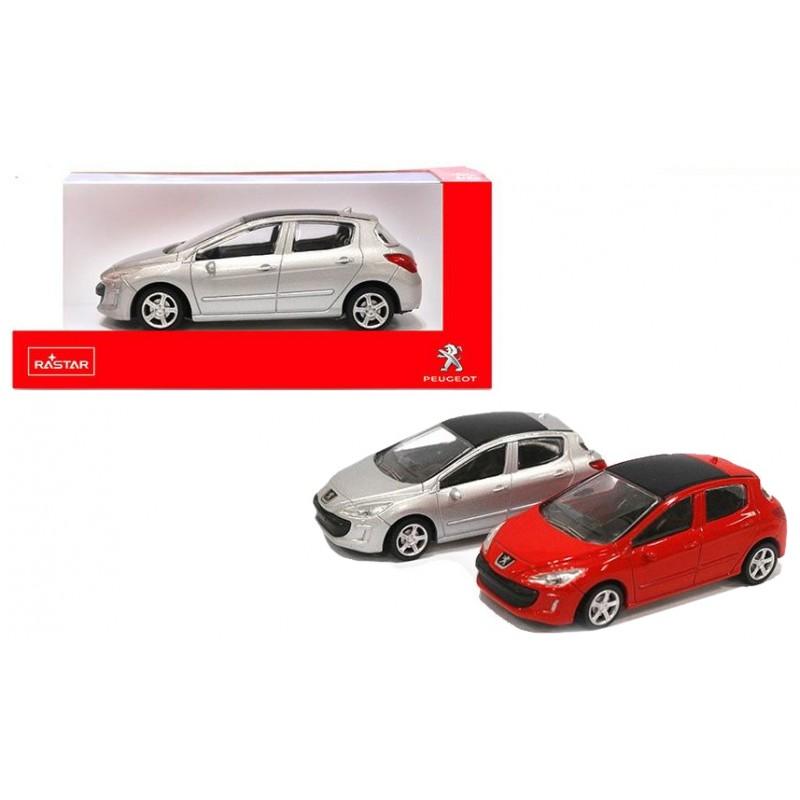 Masinuta - Peugeot 308 (doua culori) | Rastar