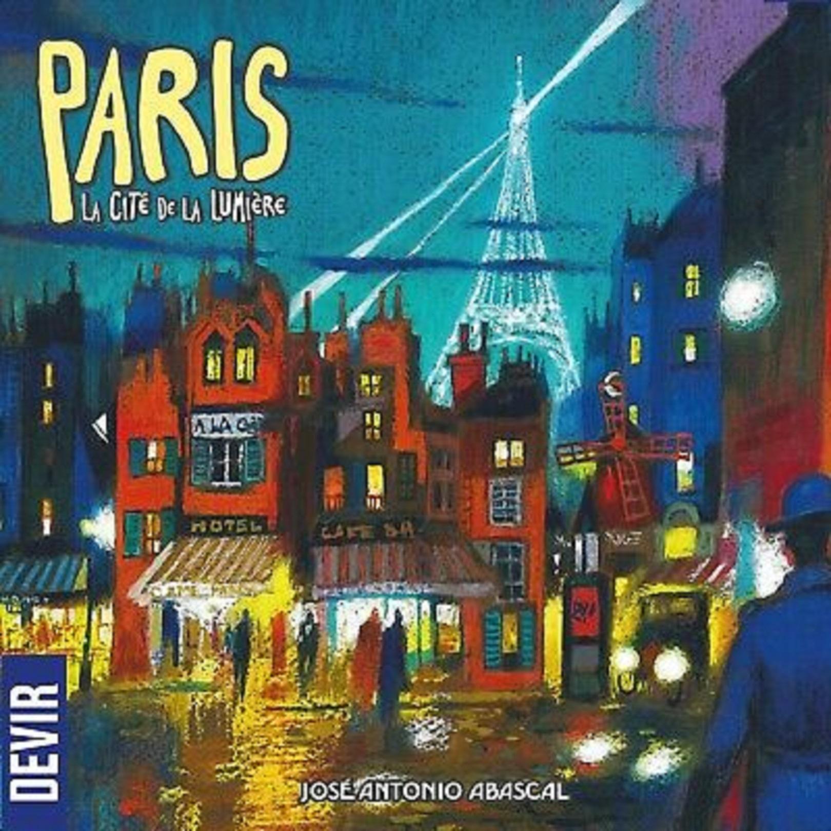 Joc de societate - Paris - The City of Light   Devir