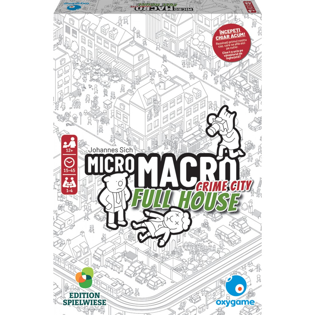 Joc de societate MicroMacro - Crime City: Full House   Pegasus Spiele